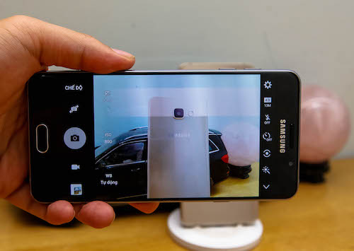 Samsung Galaxy A 2016 camera
