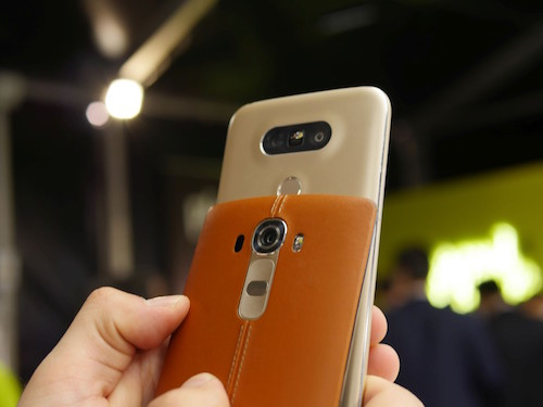 LG G5 COMPARE TO LG G4 Design